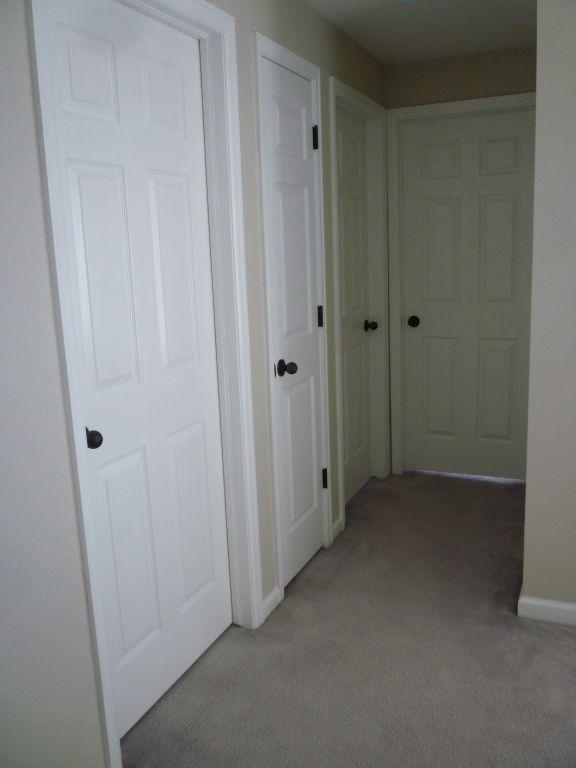 Image Result For Black Hardware On White Doors