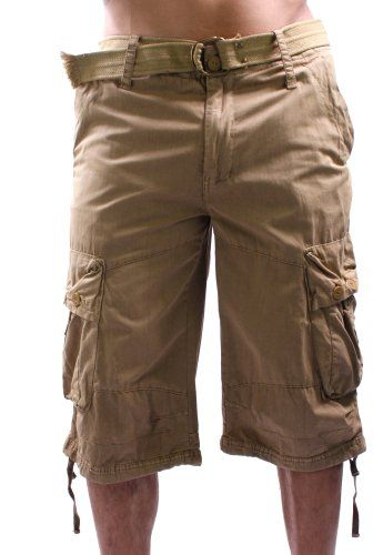 f u s a i fusai cargo military belted khaki mens shorts raquel omette phillips pinterest. Black Bedroom Furniture Sets. Home Design Ideas