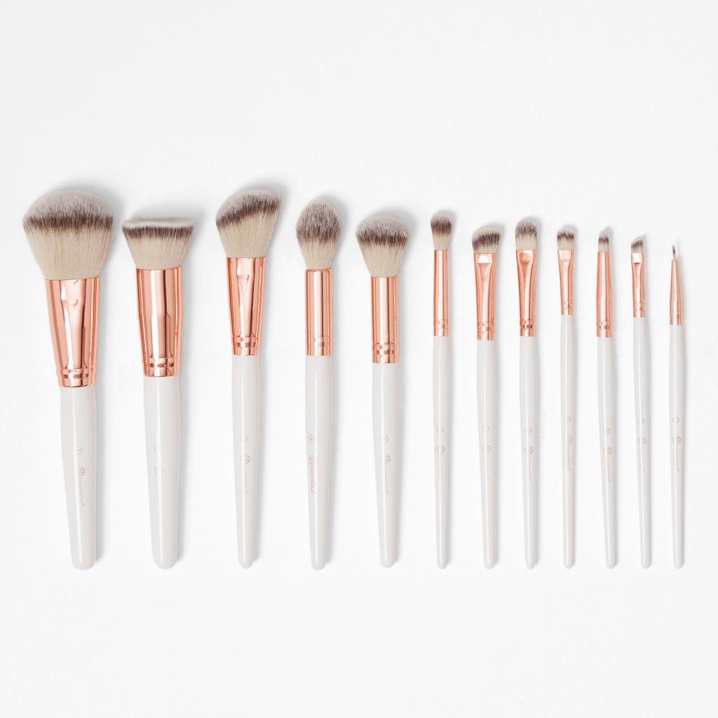 Rose Romance Makeup Brush Set Rose Gold Brush Set Rose Gold Brushes