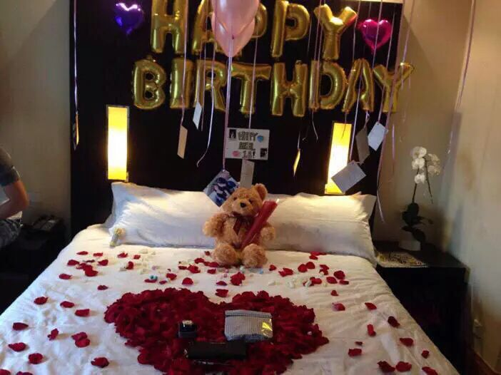 Birthday Surprises For Her 25th Ideas Romantic Boyfriend