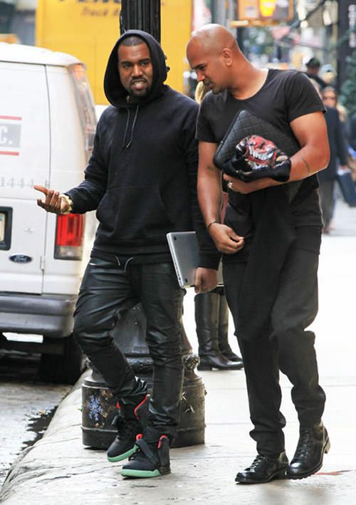 Kanye West in the Nike Air Yeezy 2 BlackPink | Style Icon