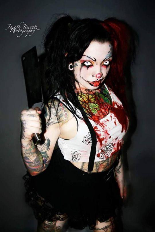 Halloween Makeup Holloween ideas Pinterest Modelos, Cosplay y