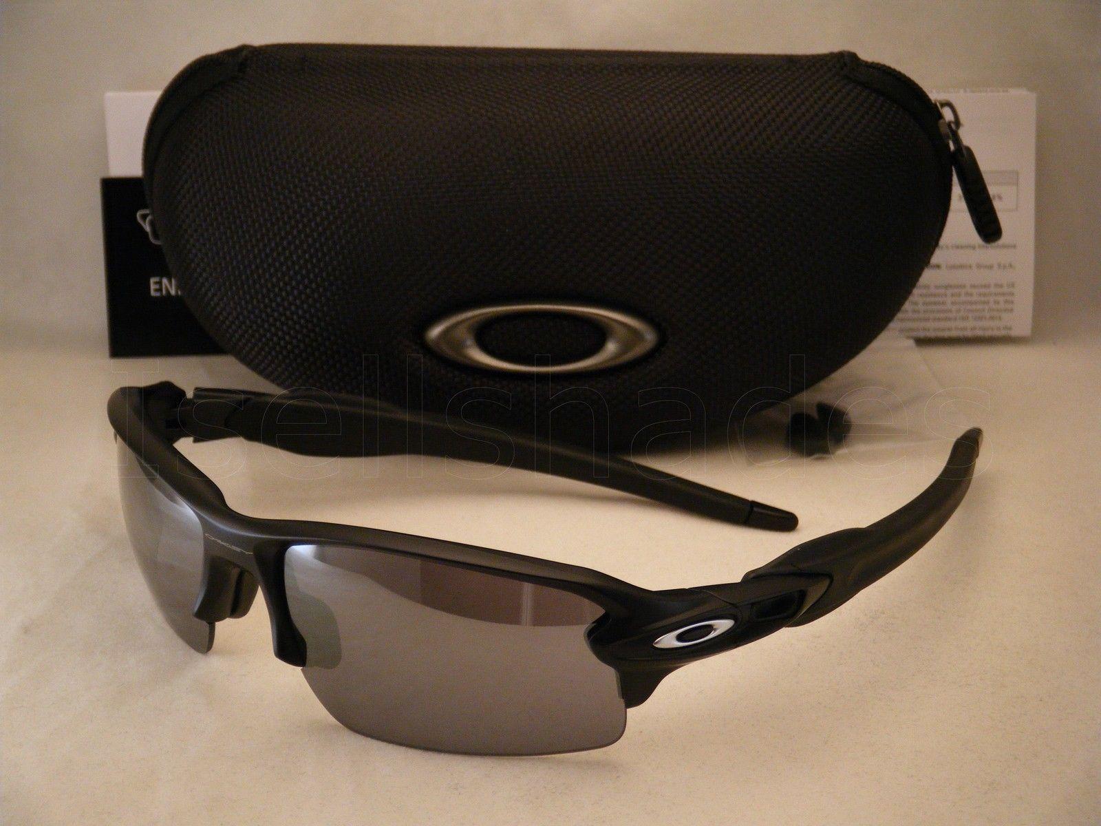 Oakley flak jacket black iridium lenses