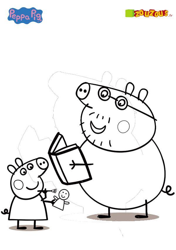 Ziemlich Bild Eines Zu Färbenden Schweins Zeitgenössisch - Beispiel ...