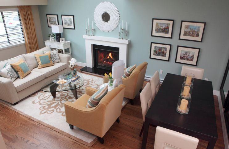Nice 50+ Creative Living Room Dining Room Combo Ideas