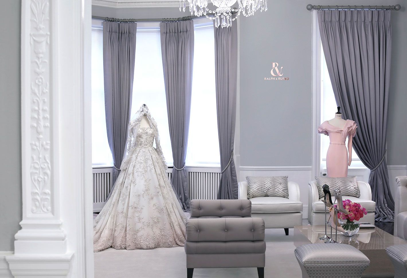 Mobili Russo ~ London maison boutiques ralph russo material girl