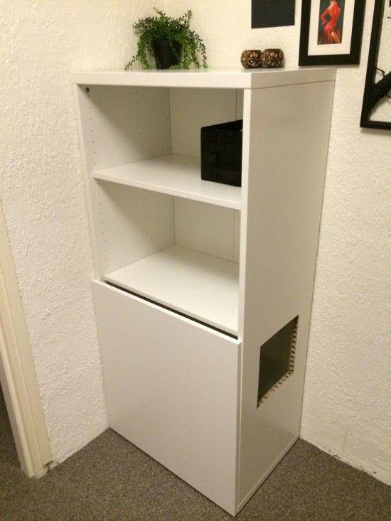 Pin Em Cat Furniture, Cat Litter Box Furniture Ikea