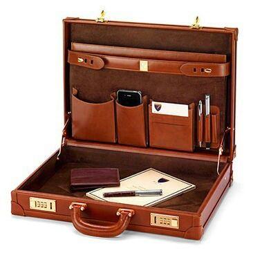 Sleek briefcase