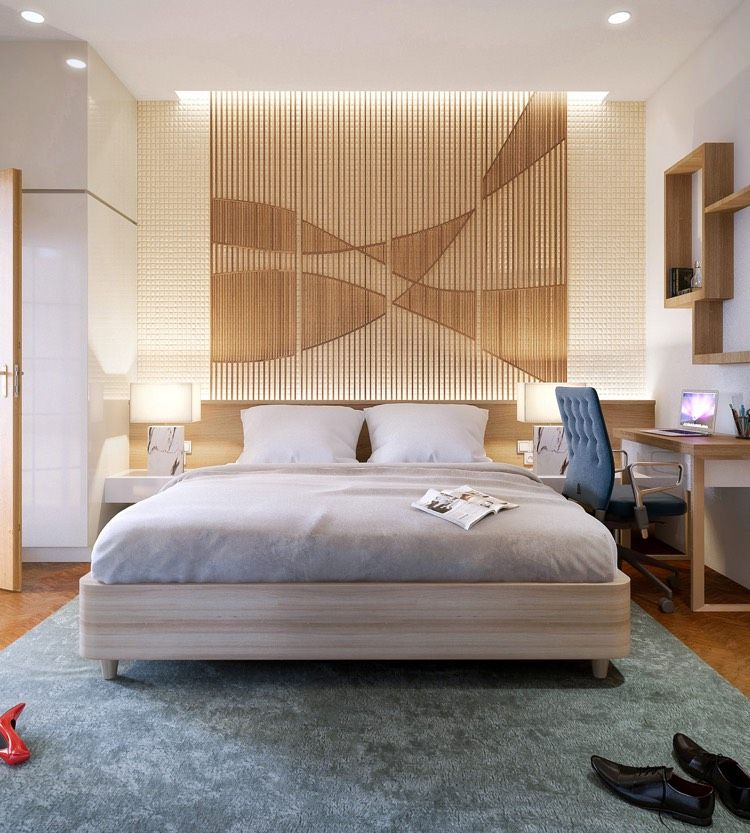 30 Ideen für moderne Schlafzimmergestaltung mit ...