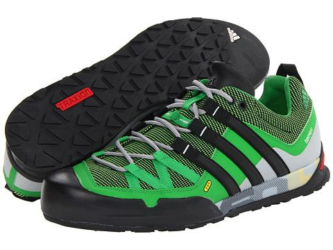 adidas outdoor terrex solo traxion ray green black real green, adidas,  Black at 6pm.com