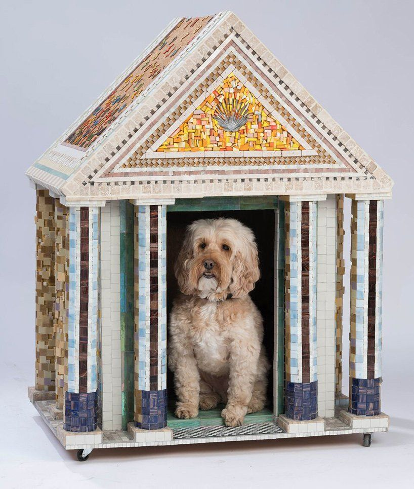 Bowwow Haus London Exhibition Features Architect Designed Dog Shelters Fancy Dog Houses Dog Houses Fancy Dog