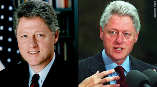 Pictures of the last 6 presidents before and after their terms oval office - Bill clinton years in office ...