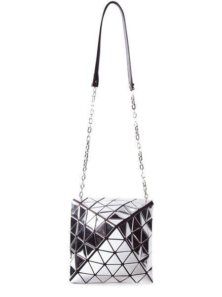 008fe0960fe Bao Bao Issey Miyake   Metallic Pyramid Pattered Shoulder Bag   Bao ...