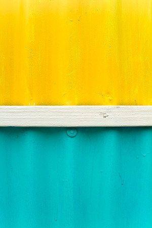 Aqua Blue And Yellow Caribbean Colors Yellow Painting Turquoise Painting Yellow Turquoise