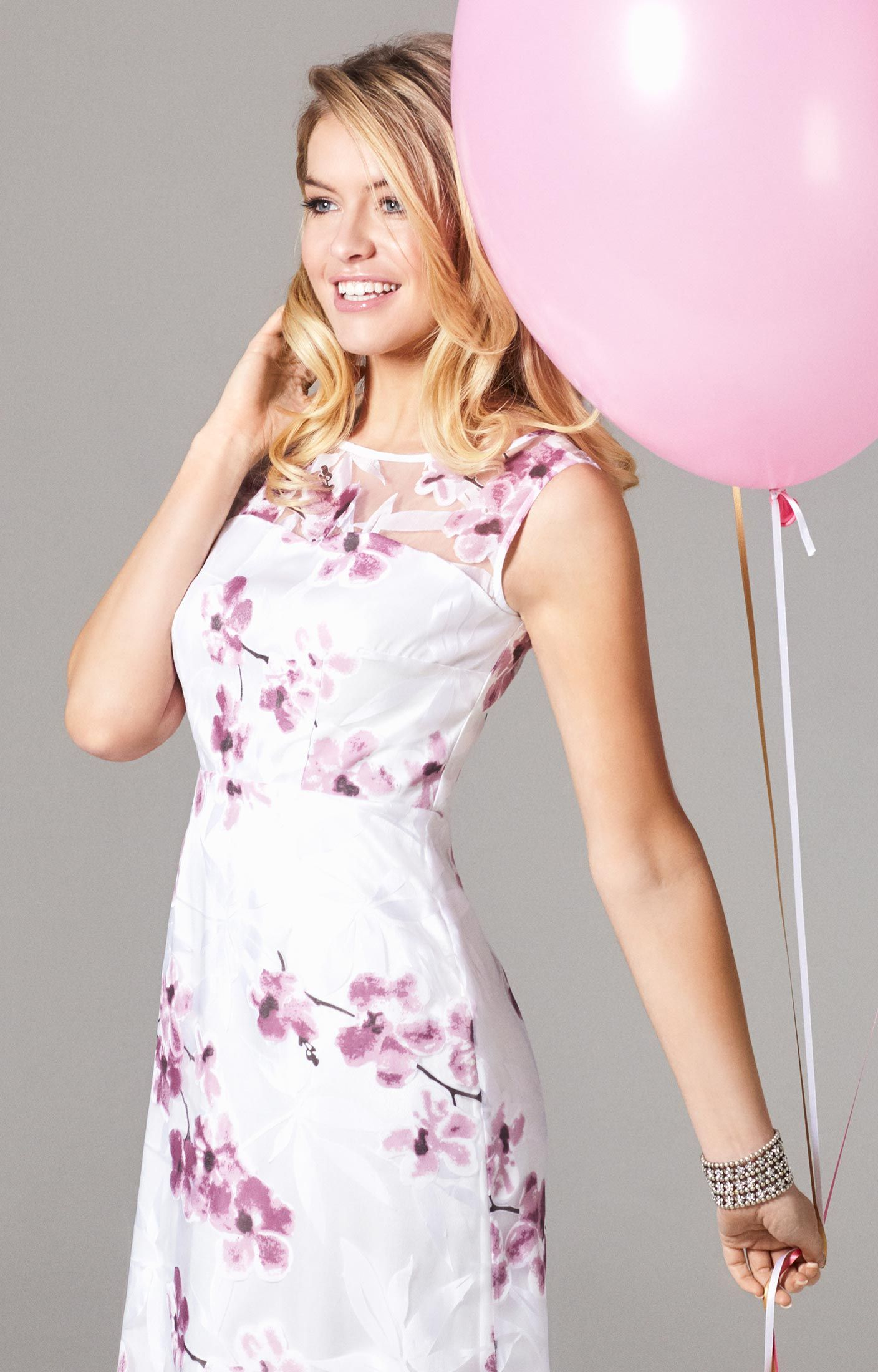 041383c16ee6 Amy Gown Long Cherry Blossom by Alie Street