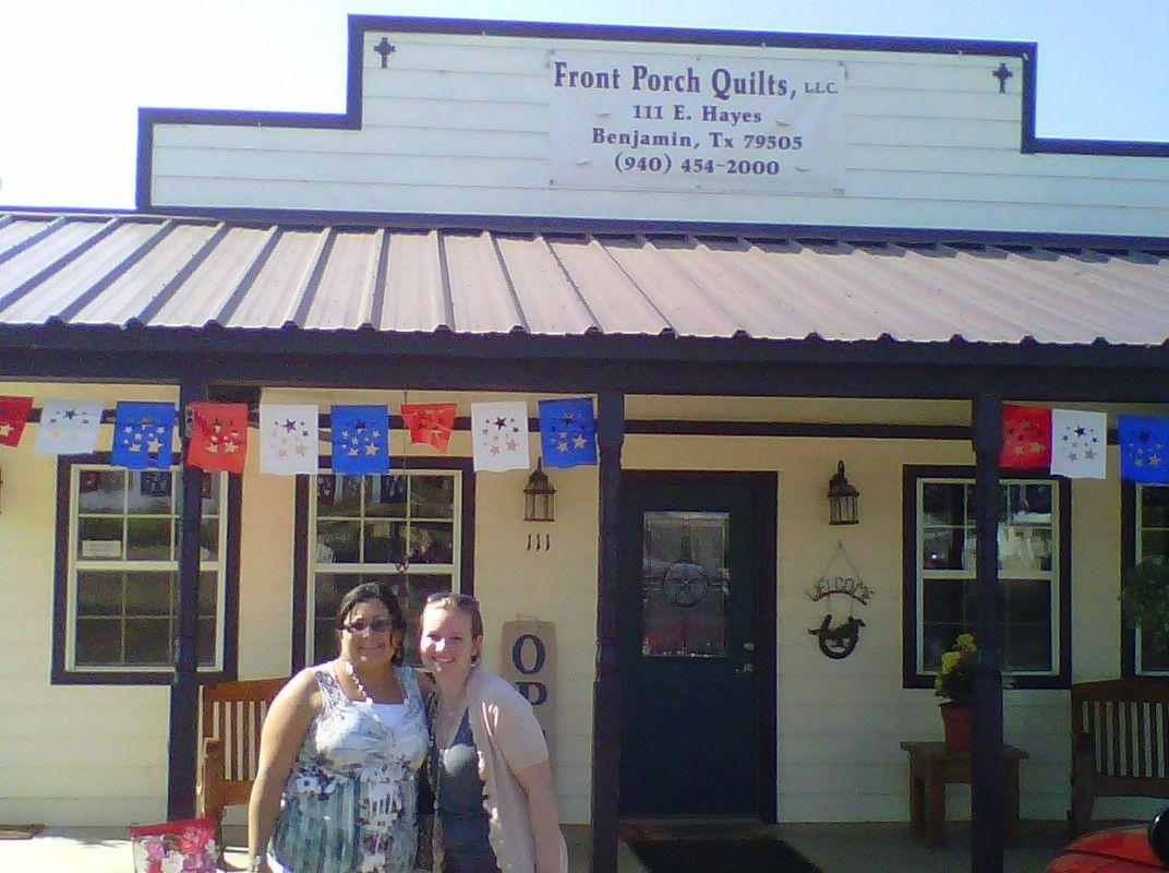 Benjamin, TX quilt shop | Quilts | Pinterest | Front porches and ... : quilt shop texas - Adamdwight.com
