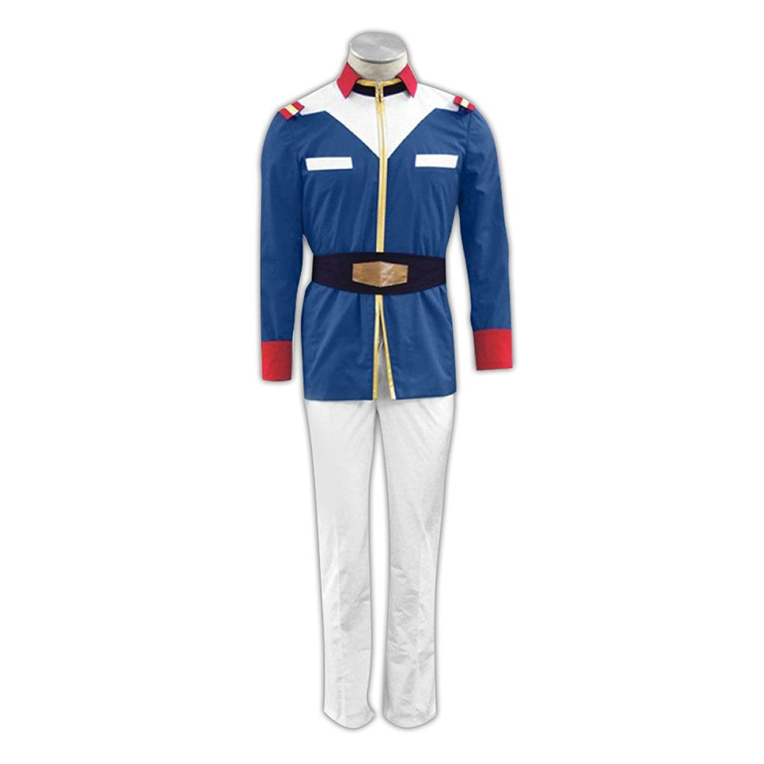 Gundam 0079 Cosplay Costume - United Nation Troops Male Large * Click image to review more details.