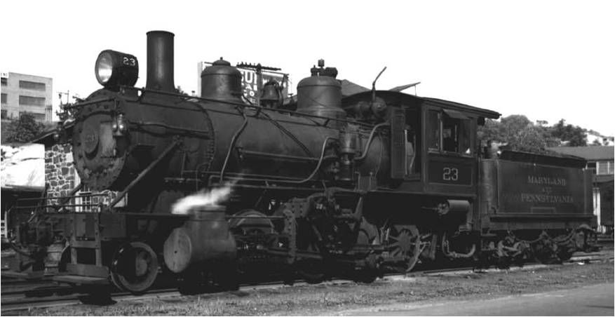 Maryland And Pennsylvania Railroad Locomotive 23 Baldwin 1902 Long Island Railroad Pennsylvania Railroad Locomotive