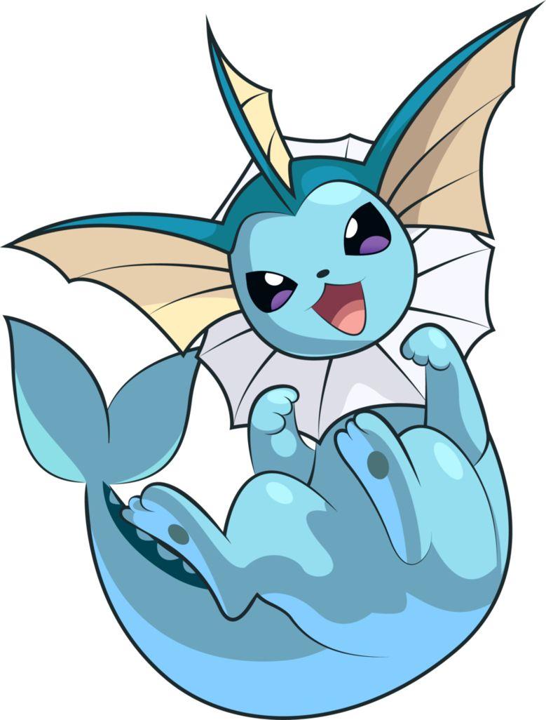 Vapoureon Dessin Pokemon Pokemon Evoli Pokemon Eau