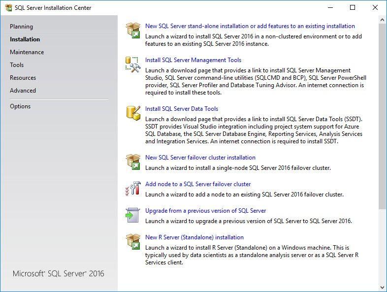 SQL Server 2016 Developer Edition Install Tutorial Power BI - electrical engineering excel spreadsheets