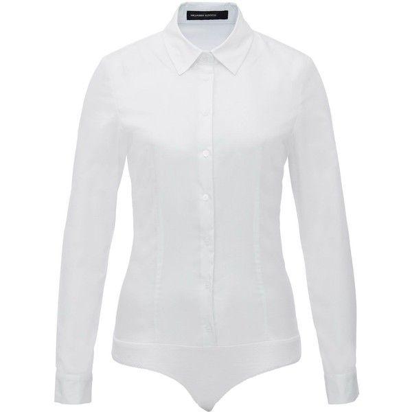 Hallhuber Clarissa Bodysuit Blouse ($55) ❤ liked on Polyvore ...