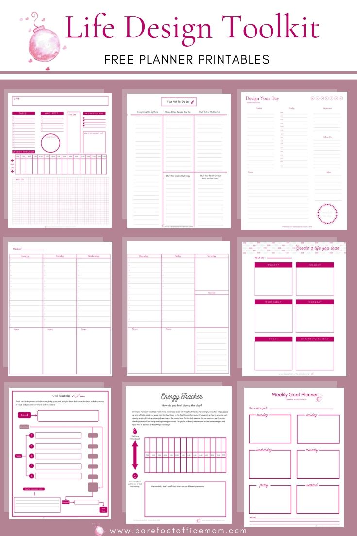 This is a graphic of Hilaire Free Printable Life Planner