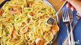 Garlic Shrimp Scampi with Mushrooms Recipe - Allrecipes.com #garlicshrimprecipes