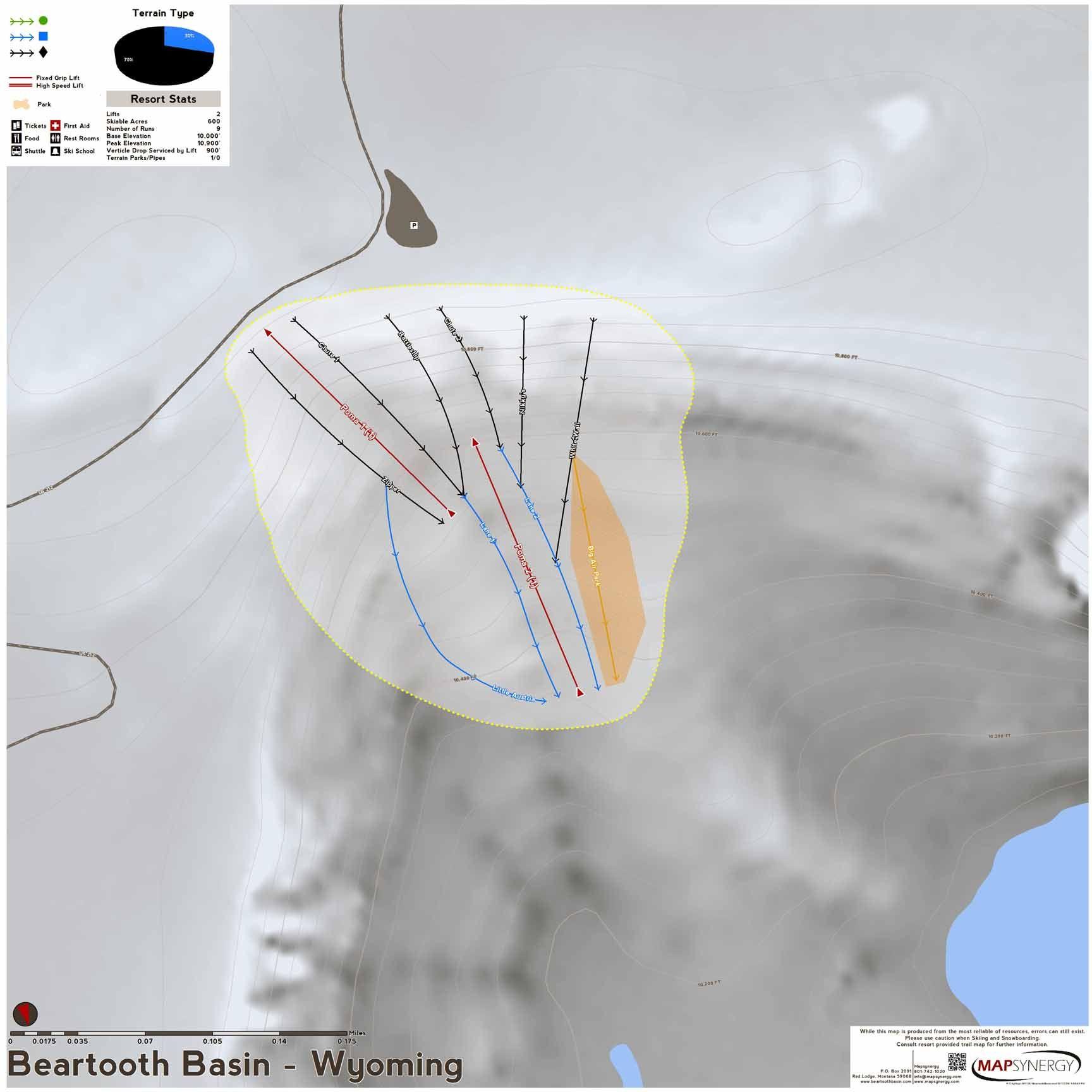 Beartooth Basin ski map | Wyoming Ski Resort Maps | Skiing ... on lakes in wyoming map, skiing near jackson wy, sleeping giant state park trail map, national parks in wyoming map, caves in wyoming map, casinos in wyoming map, rocky mountains in wyoming map, ghost towns in wyoming map, skiing in lake powell, skiing in jackson wyoming, jackson hole ski trail map,