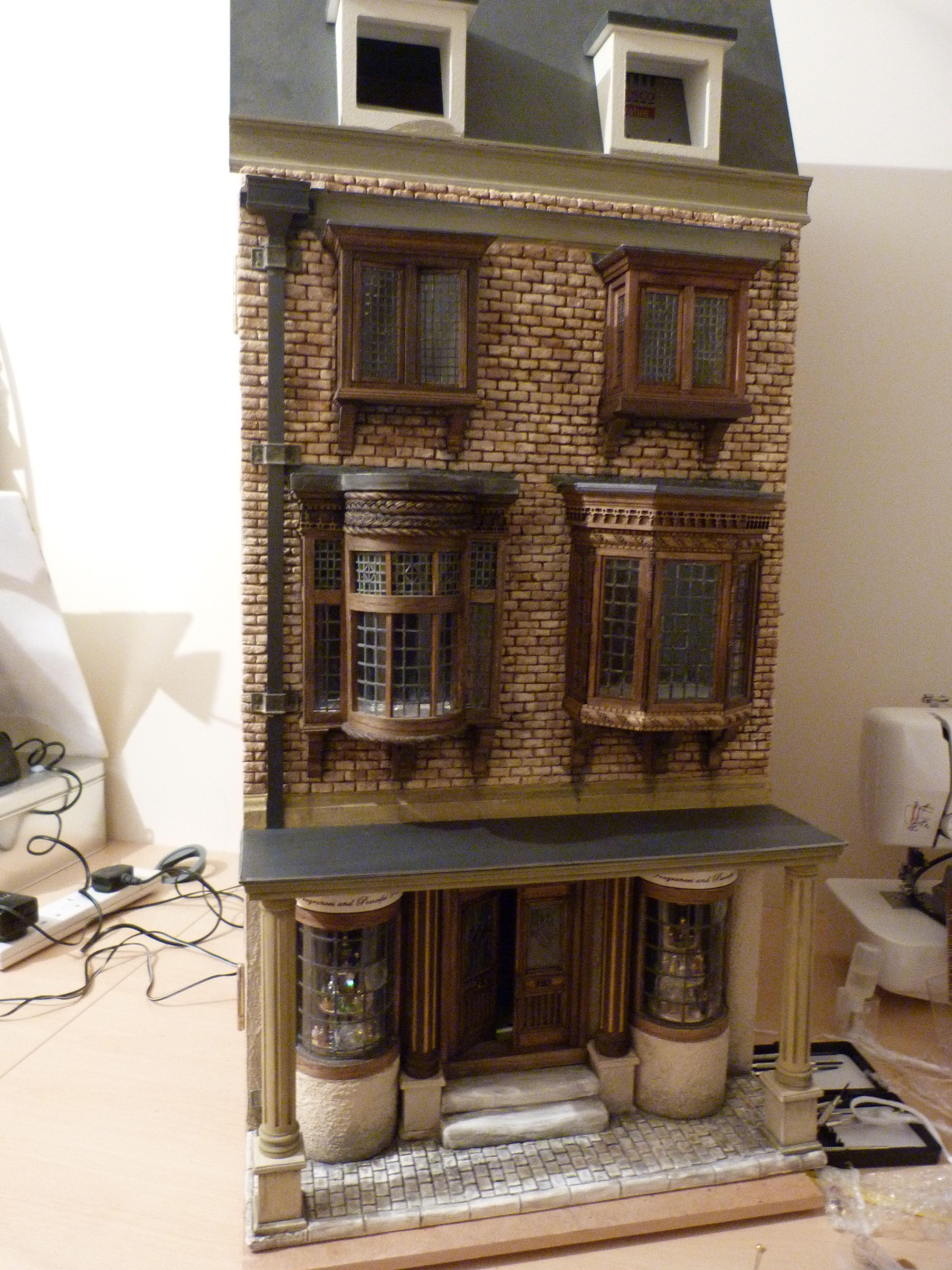 Exterior Dollhouse Ideas Dolls House Shop Miniature