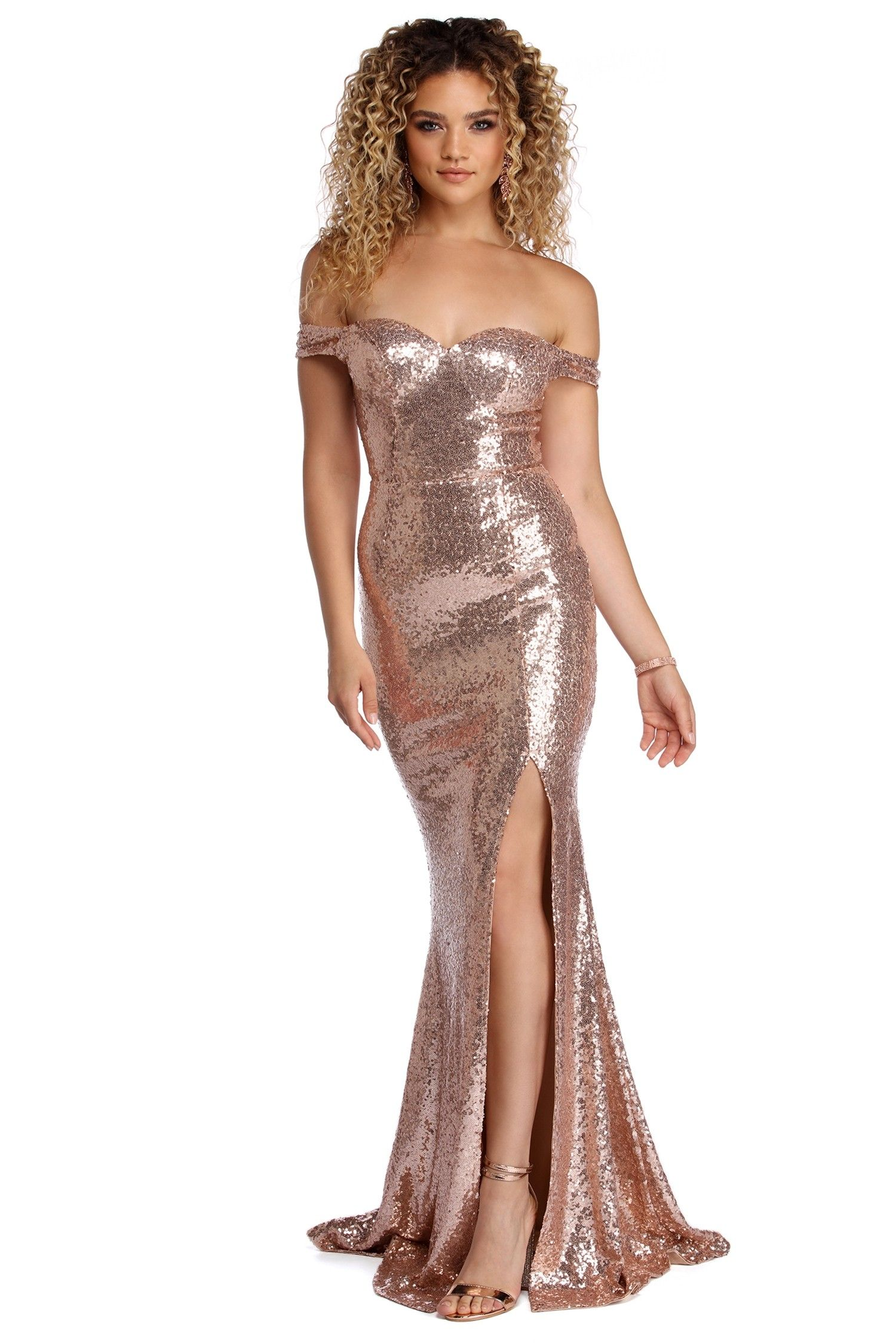 e41dae0efe6d Ariana Formal Sequin Sweetheart Dress #worldofstylishwoman Prom Eye Makeup,  Fashion Illustration Tutorial, Sparkle