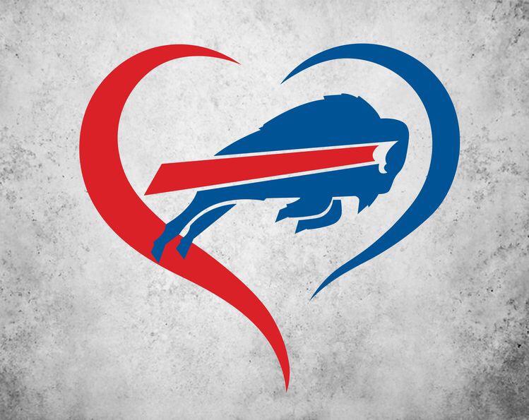 Buffalo City Bill Sport Football Logo Die-Cut Sticker Decal