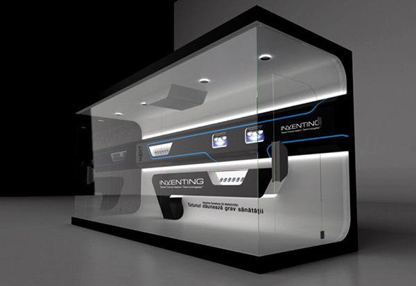 Exhibition Stand Design Kent : Kent smoke box on behance exhibit design exhibition stall