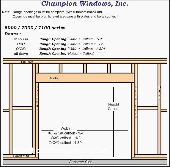 Special Order Garage Door Sizes