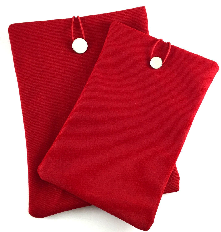 Red Ipad Mini Case,Canvas Ipad Sleeve,Red Ipad Cover,Thick Canvas Ipad Case,Canvas Fabric,Ipad mini Case,Red Book Case,Canvas Book Case by GFMODE on Etsy