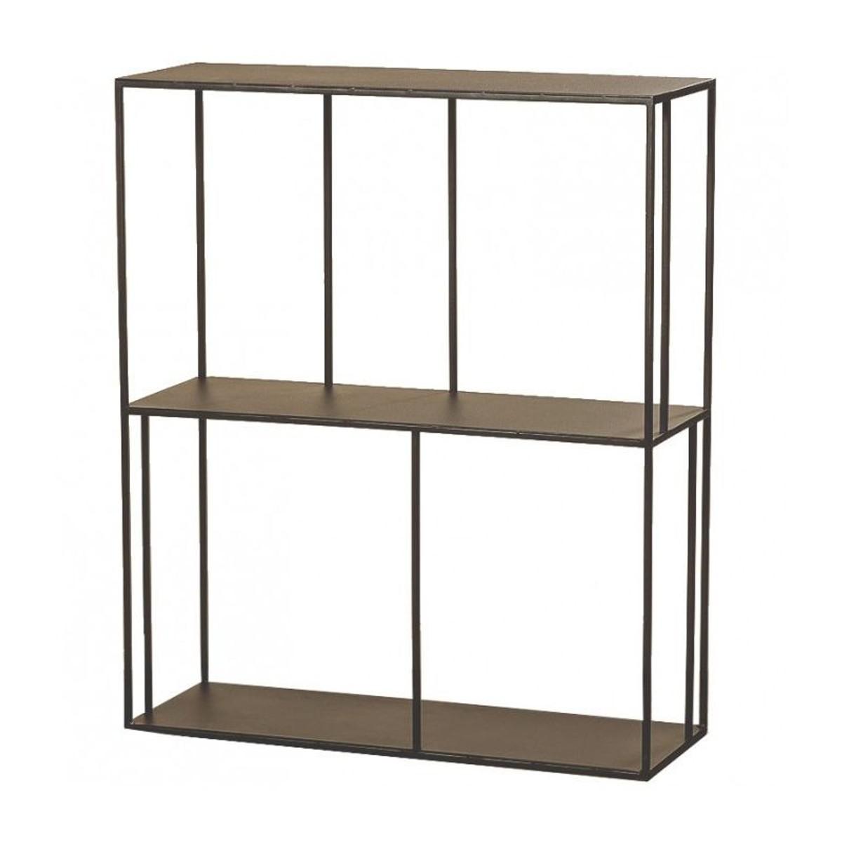 Etagere Metal Noir Hauteur 90cm Taille Taille Unique Shelves Home Decor Bookcase