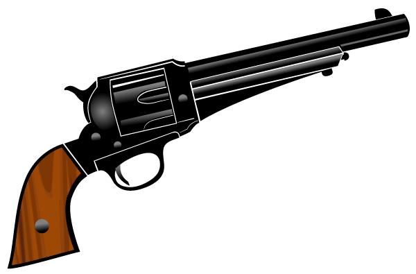 download gun clipart pistol vector clipart by www vectorportal com rh pinterest com gun clipart black and white gun clipart images