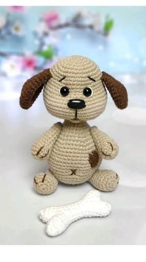Crochet Puppy pattern dog crochet pattern amigurum