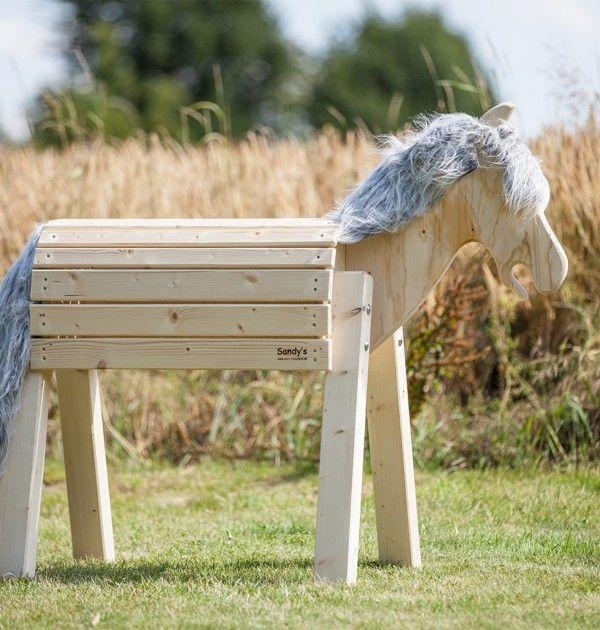 Holzpferd Modell Filou 80 Holzpferd Garten Holzpferd Holzpferd Bauen
