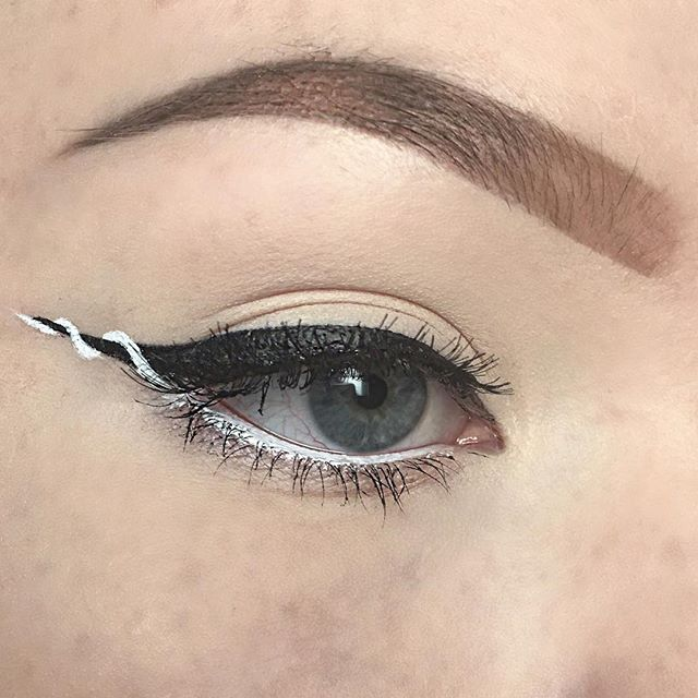 The Ribbon Eyeliner Trend Is About to Make Your Cat Eye 100!