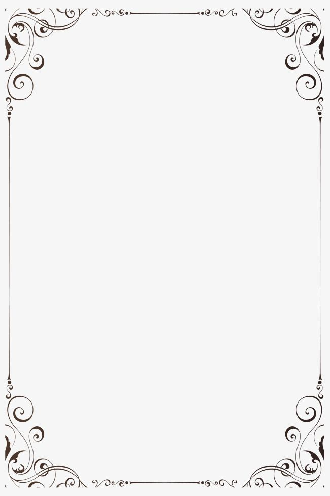Page borders and frames for paper border design pattern also best vine family book images in rh pinterest