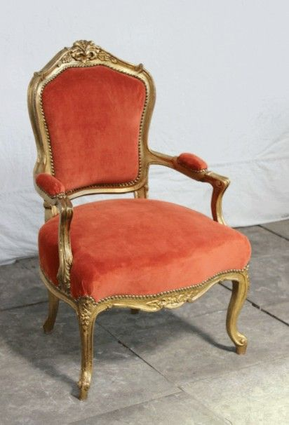 Fauteuil Baroque Roma Ii Fauteuil Baroque Fauteuil Velours Chaise Canape