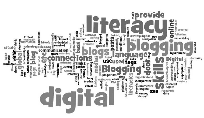 Using blogs and reading blogs teaches us important digital
