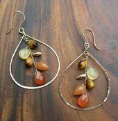 27 Kostenlose Tutorials für Drahtwickelschmuck, #diyjewelryideasearring #Free #jewelry #Tutorials #Wire …