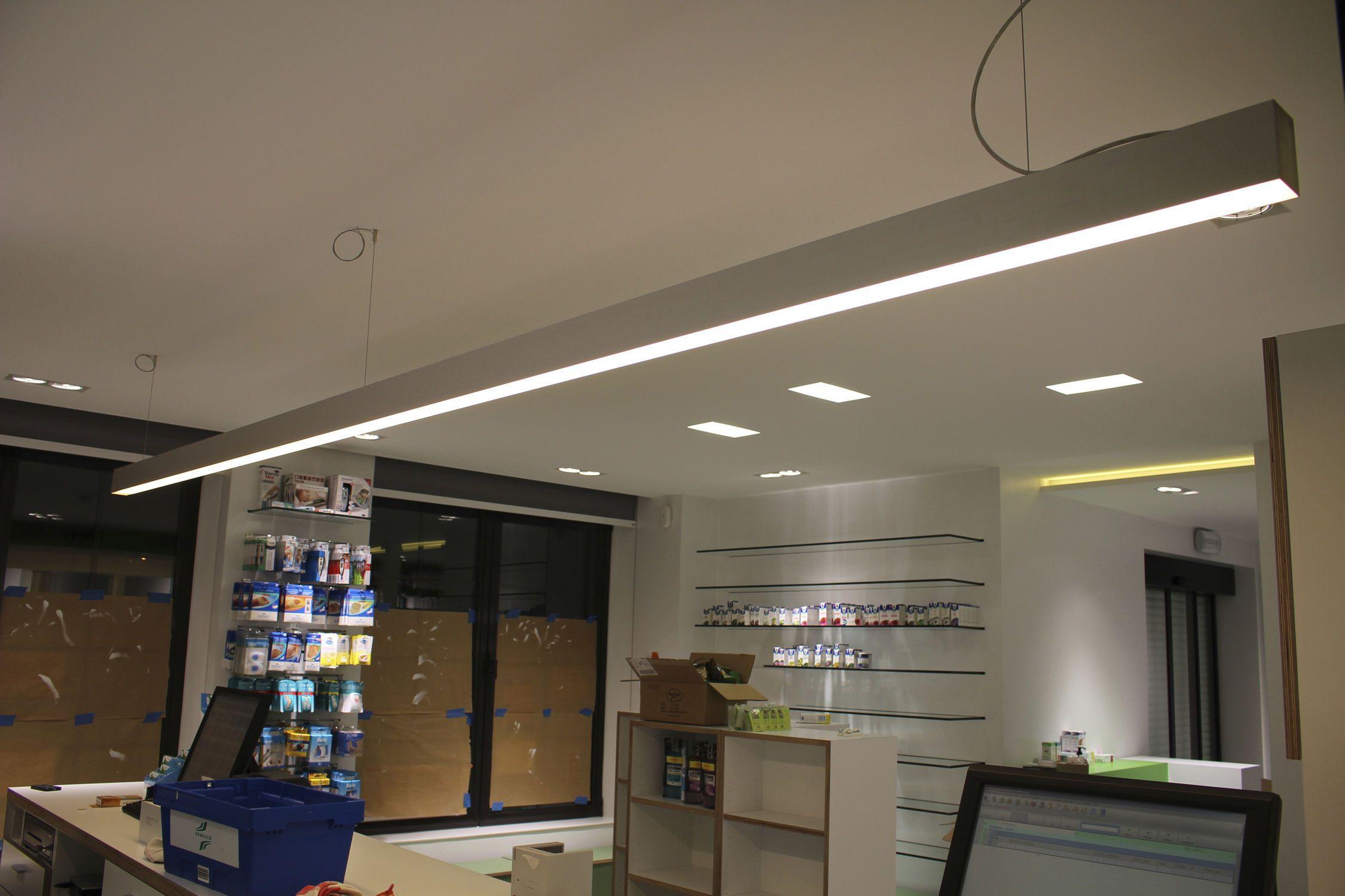 contemporary ceiling lighting. Contemporary Ceiling Light / Linear Plastic LED - LINE 60 Eden Design B.V.B.A Lighting O