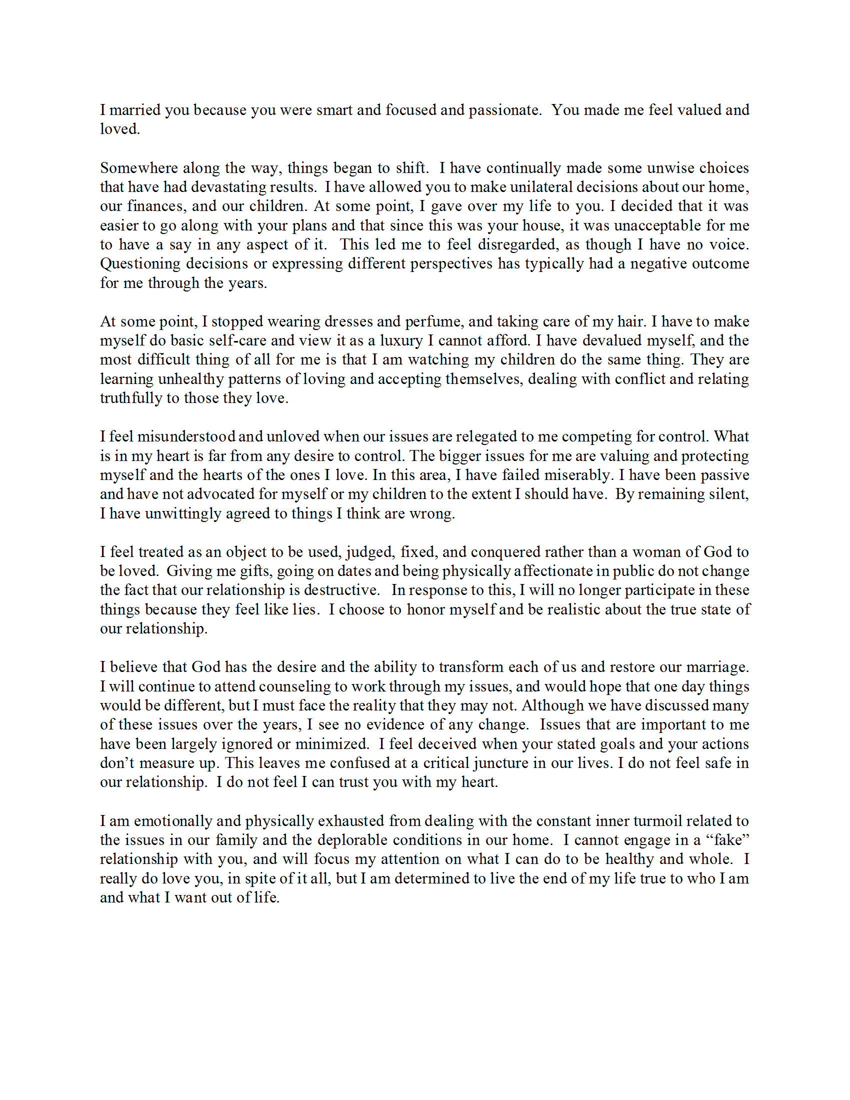 Sample Confrontation Letter.docx Conflict resolution