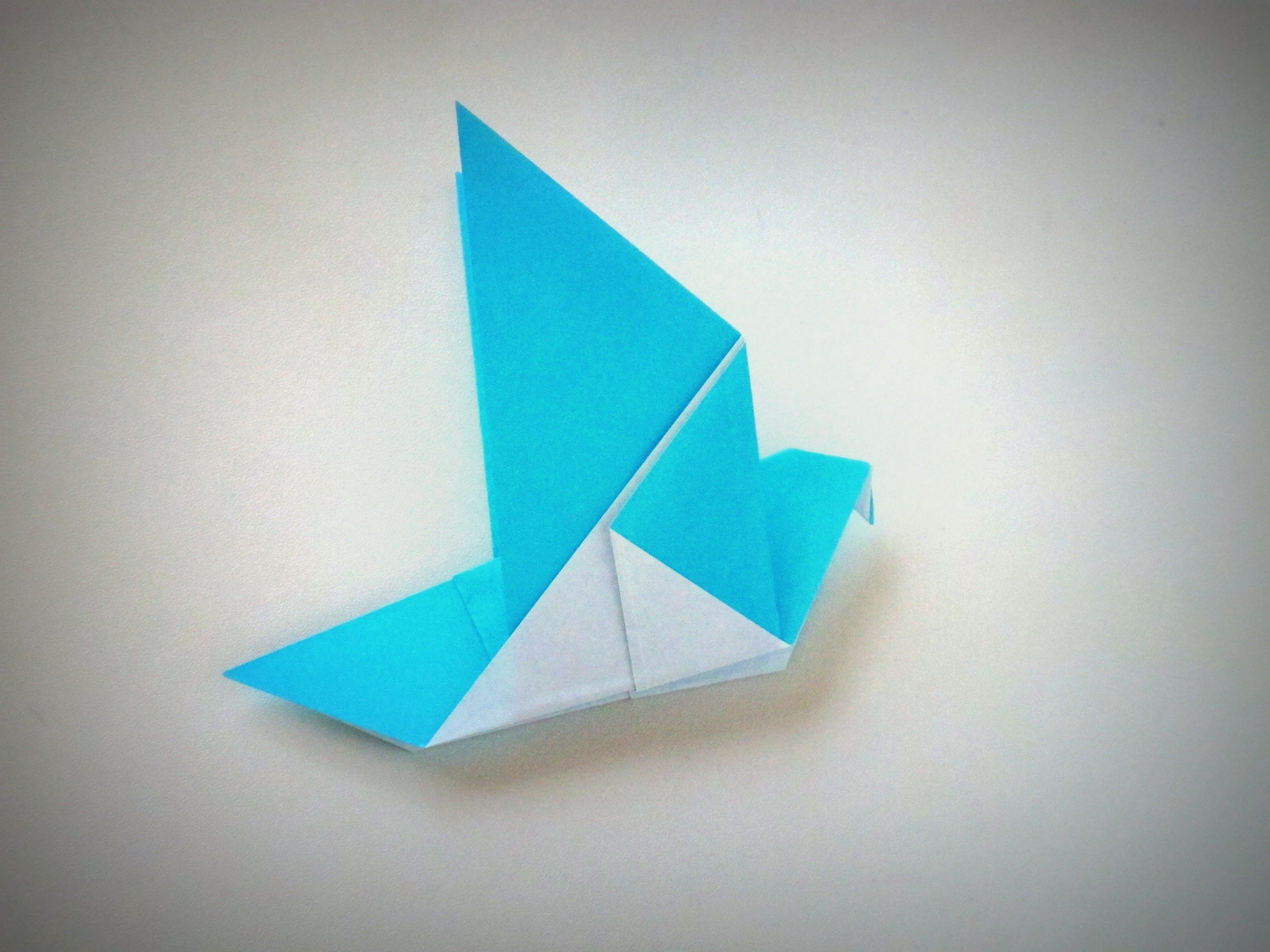 Origami - How to make a DOVE - YouTube | I DID IT ... - photo#35