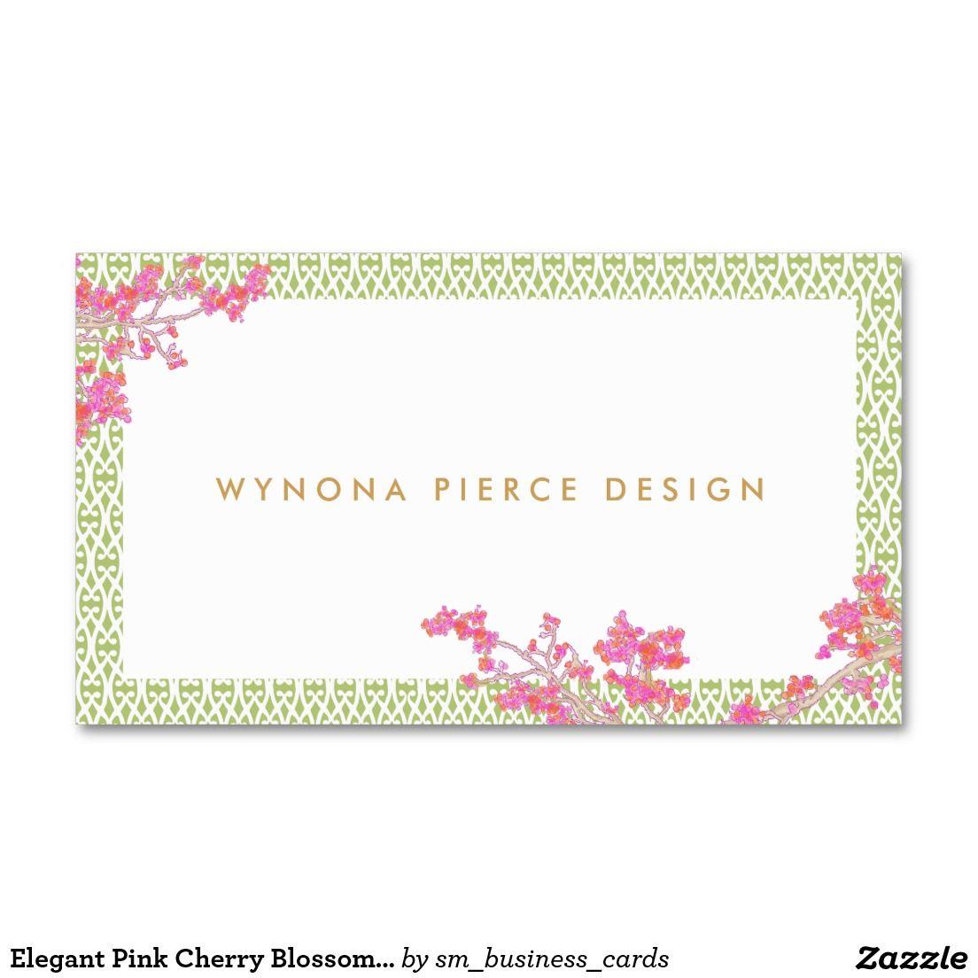 Create Your Own Profile Card Zazzle Com Floral Business Cards Stylish Business Cards Business Cards