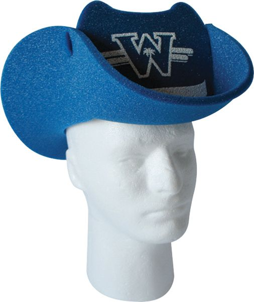 Get The Best Exposure For Your Business With This Top Selling Promo Our Foam Cowboy Hat With Pop Up Visor Offers Multiple And Large Log Cowboy Hats Visor Hats