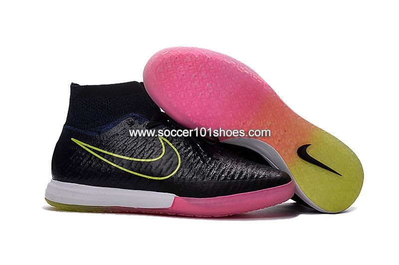 online retailer 80e4f 5acae Nike Men s MagistaX Proximo IC Indoor Football Boots Soccer Shoe Black Blue  Pink  73.00