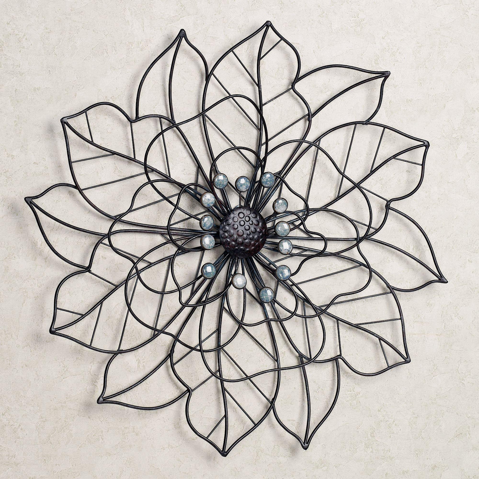 Beauty In Bloom Flower Blossom Metal Wall Art With Images Metal Tree Wall Art Metal Wall Art Decor Metal Tree